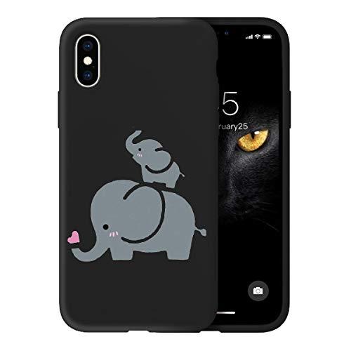 Oihxse Silicona Matorral TPU Case Compatible iPhone