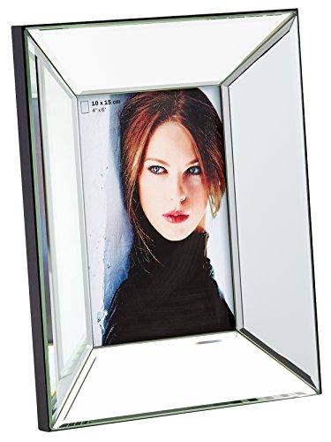 Preisvergleich Produktbild walther design IJ318S Portraitrahmen Jette,  Spiegelglas Bilderrahmen,  Metall,  silber,  20.5 x 3.5 x 25.5 cm
