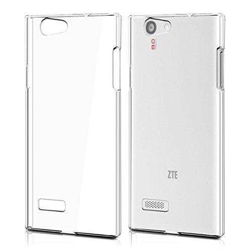 kwmobile Funda para ZTE Blade L2 - Case plástico para móvil - Cover trasero en transparente