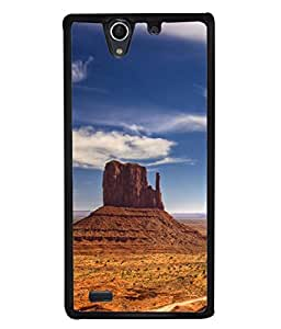 PrintVisa Designer Back Case Cover for Sony Xperia C4 Dual :: Sony Xperia C4 Dual E5333 E5343 E5363 (Historical Place Dry Path Ragistaan Desert )