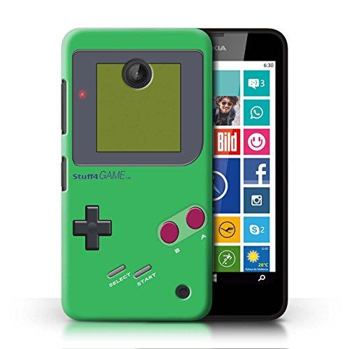 Stuff4 Hülle / Case für Nokia Lumia 635 / Grün Muster / Videogamer/Gameboy Kollektion