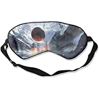 Eye Mask Eyeshade Snow Volcano Mountain Sleeping Mask Blindfold Eyepatch Adjustable Head Strap preisvergleich bei billige-tabletten.eu