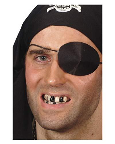 Schwarzes Zahnwachs für realistische Make-Ups