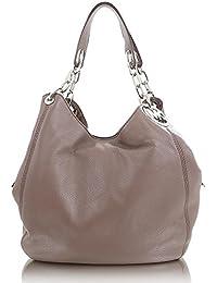Michael Kors Tasche Damentasche Handtasche grau rosa gold in