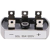 suweqi 50A 1200V Aluminium Metall Fall 3Phase Diode Brücke Gleichrichter 50AMP SQL50A Modul