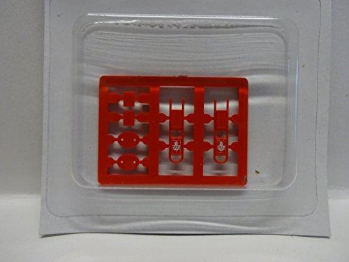 Rietze 70292 Hundetoilette rot 2 Stück H0 1:87 Neu