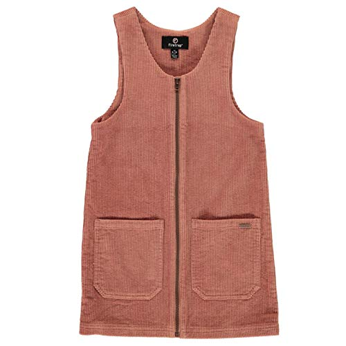 Firetrap Kleinkind Mädchen Pinafore Kleid Blaush Cord 0/6 Monate
