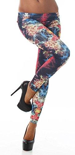 Q.a. leggings pour femme différentes options de longueur bunt 2