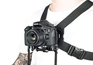 DSLR Chest Mount Harness for all Digital Cameras compatible with all major brands Sony Canon 60D 70D T3,4,5i series 100% universal