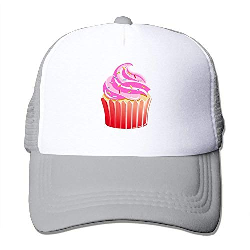 aseball Cap Mesh Baseball Caps Sweet Cupcake Sketch Clipart Unisex Adjustable Sports Trucker Cap ()