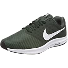 Nike Running Downshifter 7 Vintage Green/White Outdoor Gr, Zapatillas de  Deporte Unisex Adulto