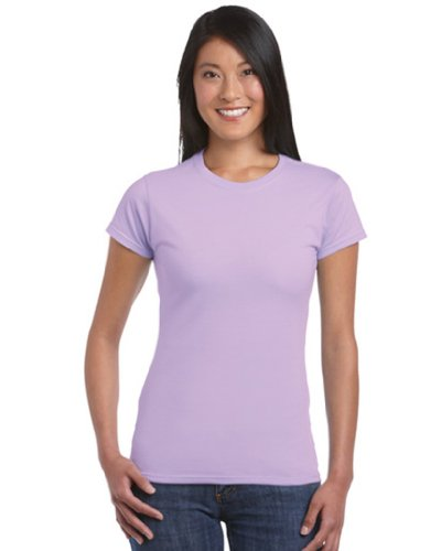 Gildan Damen Softstyle T-Shirt 64000L Orchid M (64000l T-shirt)