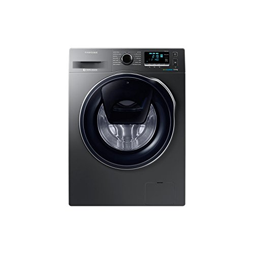 Samsung WW80K6414QX Independiente Carga frontal 8kg 1400RPM A+++ Acero inoxidable - Lavadora...