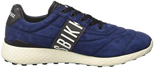 BIKKEMBERGS Herren Strik-Er 894 Niedrige Sneaker Blau