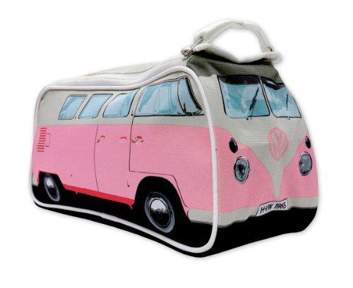 Preisvergleich Produktbild Brisa VW Collection Kulturbeutel Bulli T1 im 3D ca 31 x 14 13 cm PINK