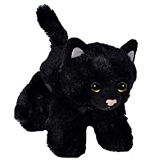 Idea Regalo - Wild Republic 18089 - Hug'Ems Gatto di Peluche, 18 cm, Nero