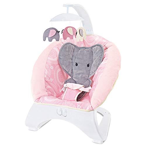 Silla Mecedora Para Bebé Música Cuna Para Bebé Sillón Reclinable Eléctrico Calibración Vibrante...