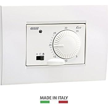 Termostato incasso dat bianco GECA 35321794