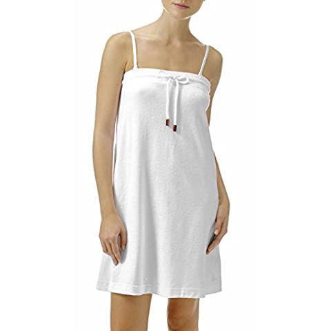 Vilebrequin Dress - Terry cloth knee strapless dress Women - Large - White