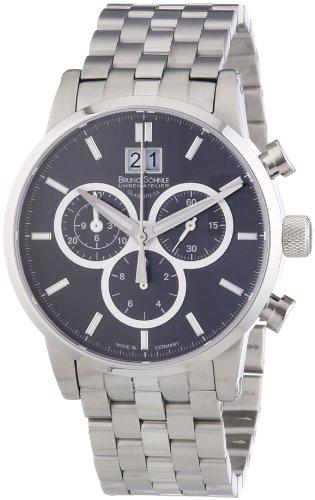 Bruno Söhnle Herren-Armbanduhr XL Idas Chronograph Quarz Edelstahl 17-13084-842