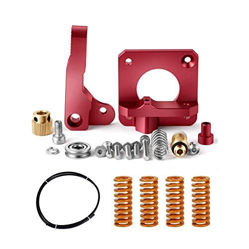 Redrex Upgrades Ersatz Aluminium Bowden Extruder,Bowden Schlauch,Stiff All -Metal Bed Leveling Federn für Ender 3 und CR10 Serie 3D Drucker