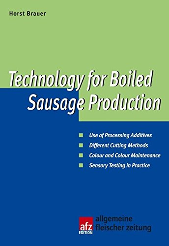 Technology for Boiled Sausage Production (SK826)