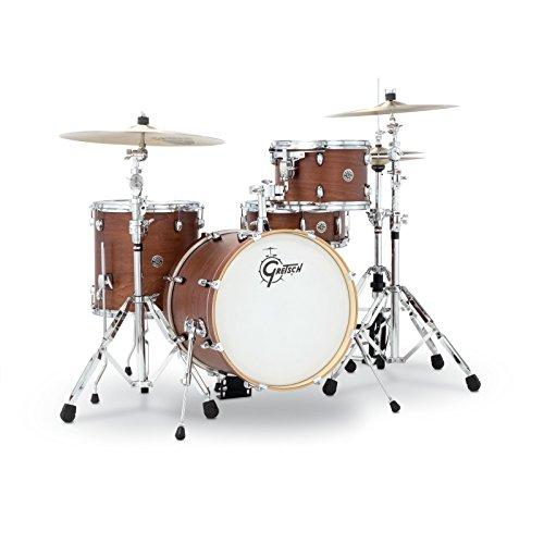 Gretsch Schlagzeug-Set, CT1J484SWG, 2014,Catalina Club, Jazz, 4-teiliges Trommel-Set, Satin-Wallnussglasur -