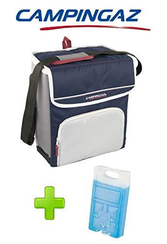 ALTIGASI Kühltasche FOLD\'N Cool CAMPINGAZ 20 Liter CAMPINGAZ mit verstellbarem Schultergurt und Fronttasche - Leistung bis zu 12 + 1 FREEZ Pack M10