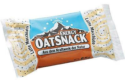entspr. 2,46 Euro/100g - Verpackung: 65g - Energieriegel auf Haferflockenbasis Latte Macchiato