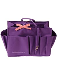 Organisateur De Sac - L Violet - Taille L : Long 24 Cm X Haut 17 Cm X Prof 11 Cm
