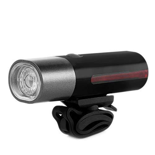 GQP Fahrradlicht Superhelles Frontlicht, drehbar, mit Prüflicht, Mountainbike-Beleuchtung, wasserdicht im Freien, Taschenlampe,-Black