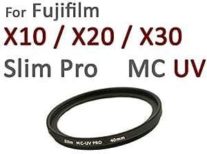 Nouveau: Filtre UV spécial S-PRO1 Digital Slim MC 40mm pour Fuji X10 / X20 / X30