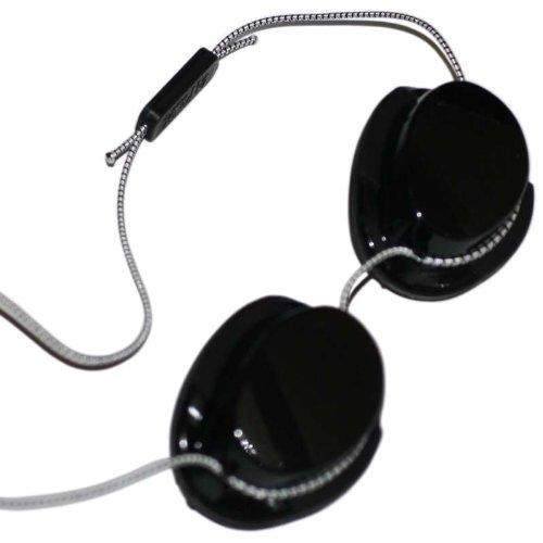 Höhensonnenbrille für Erwachsene - Solarium Schutzbrille Solariumbrille Rotlichtbrille