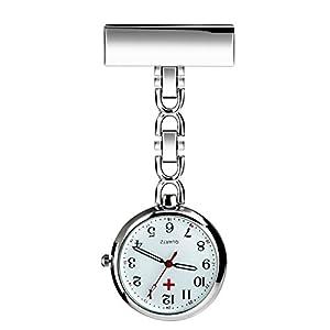 BestFire Enfermera solapa pin reloj