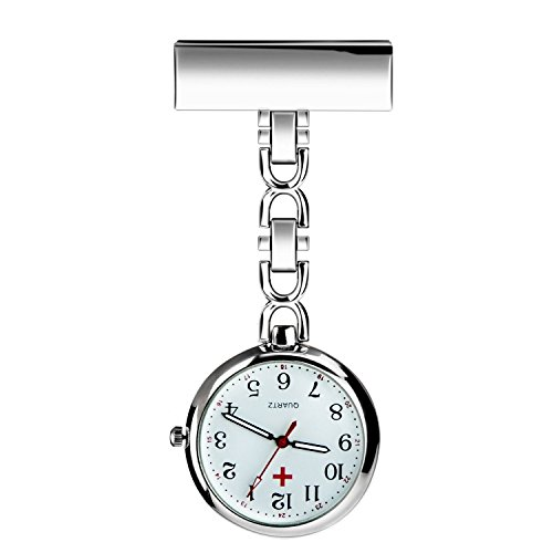BestFire Enfermera solapa pin reloj...