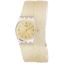 Swatch Reloj Digital para Mujer de Cuarzo con Correa en Silicona LK351C