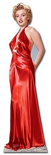steller von Marilyn Monroe Gewand (rot) ()