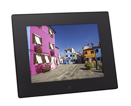 Rollei Pissarro DPF-85 HD Multimedia 8 Zoll Bilderrahmen mit Videofunktion - Schwarz