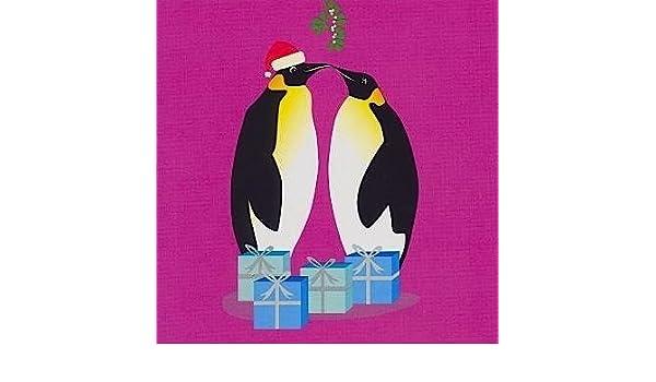 Wwf Weihnachtskarten.Amazon De Wwf Pinguin Weihnachtskarten Pack Von 10