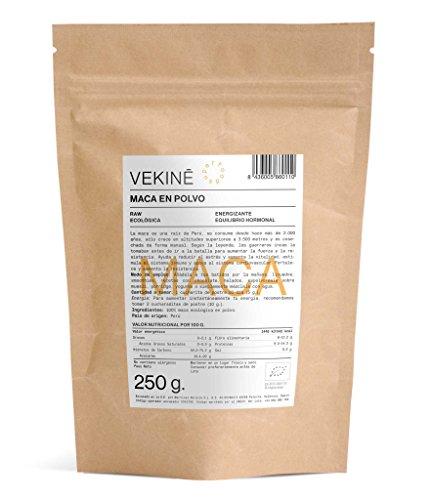 Maca Ecológica en polvo 250 gr | La mejor calidad | Superalimentos VEKINE Health Movement!