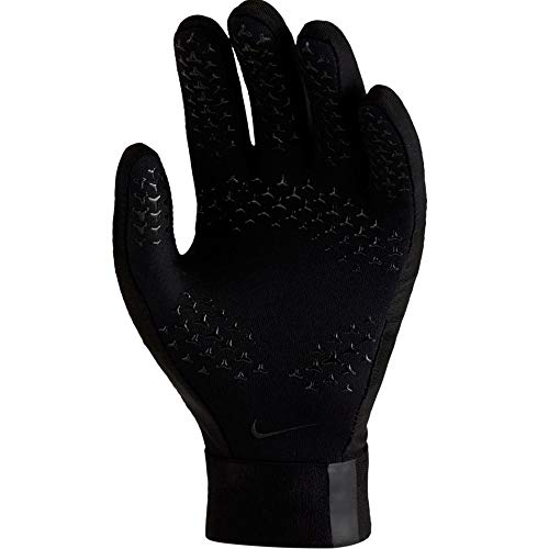 Nike Y NK ACDMY HPRWRM Gants de Foot Mixte Adulte, Black, FR : S (Taille Fabricant : S)
