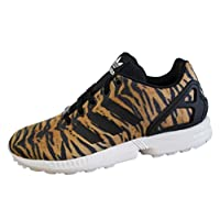 adidas Originals Kids ZX Flux Tiger Print Trainers