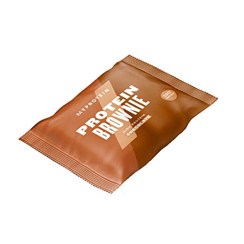 Protein Brownie (Myprotein Protein Brownie-12 x 75g-White Chocolate)