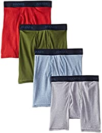 Boys Hanes Ultimate Dyed Boxer Brief with Comfort Flex® Waistband Assorted