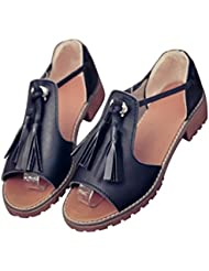 Clode® Femmes Summer Flat Tongs Sandales Mocassins Bohême Chaussures