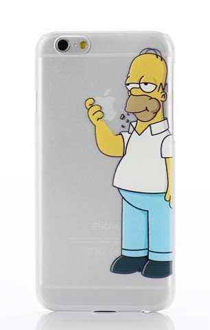 phone-kandyr-mela-chiaro-custodia-rigida-trasparente-case-cover-cartoon-cartone-animato-iphone-5-5s-