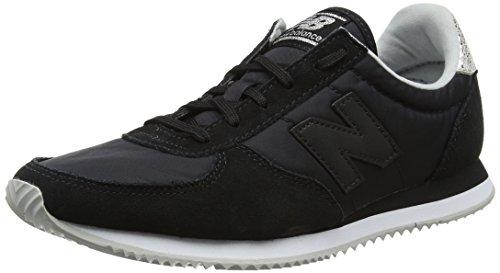 New Balance Women's Wl220 Running Shoes, Black (Black), 6 UK 39 EU