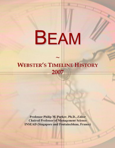 Beam: Webster's Timeline History, 2007