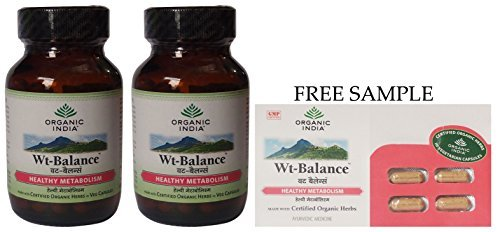 organic-india-weight-balance-formula-60-veg-capsules-pack-of-2-free-expedited-shipping-via-dhl-expre