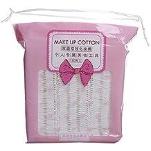 Babysbreath17 180PCS / Set prensado Almohadillas de algodón Maquillaje de uñas de Doble Cara removedor de